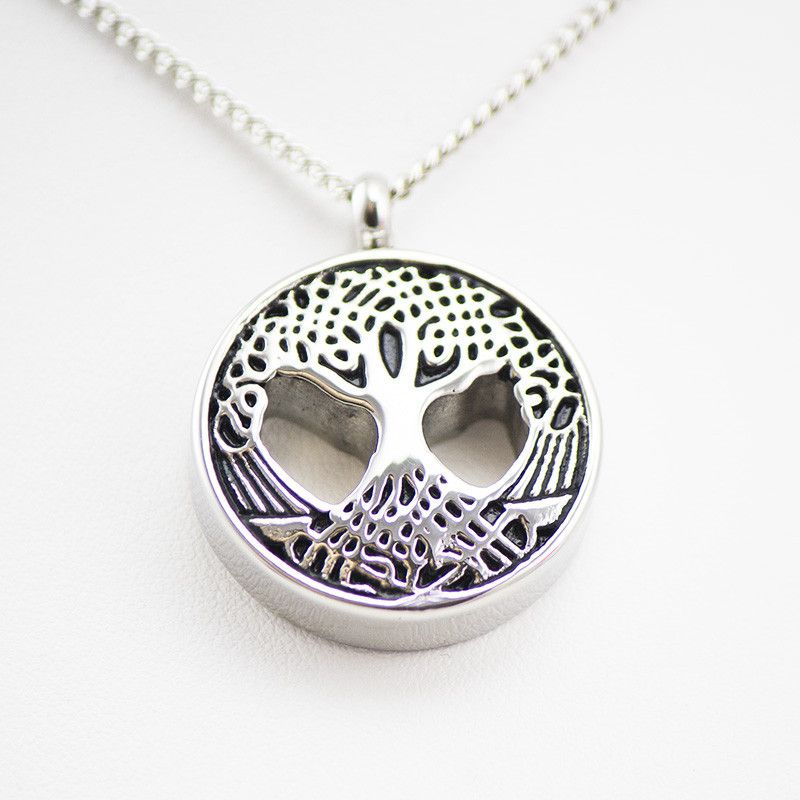 Cremation urn necklace for ashes sacred tree cremation urns cremation urn necklace for ashes sacred tree mozeypictures Images