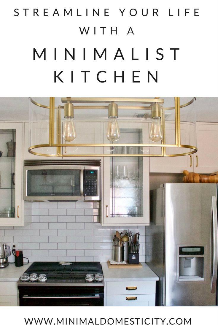 Streamline Your Life with a Minimalist Kitchen