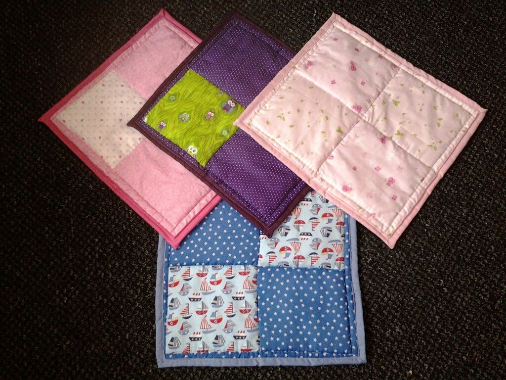 Small incubator quilts