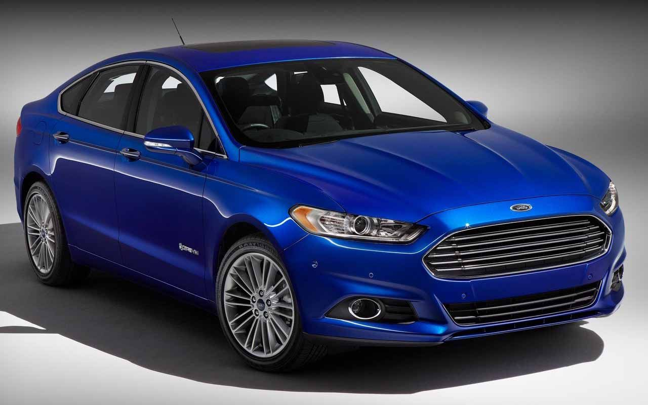 2016 Ford Fusion Blue Concept Picture Wallpaper | Review ...