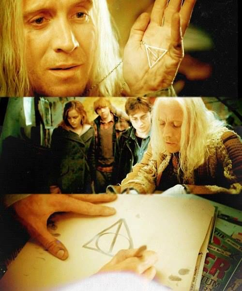 Xenophilius Lovegood Harry Potter Characters Luna Lovegood Gif Magical World Of Harry Potter