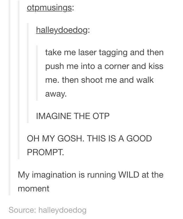 tom holland imagines - Laser Tag (Peter Parker)