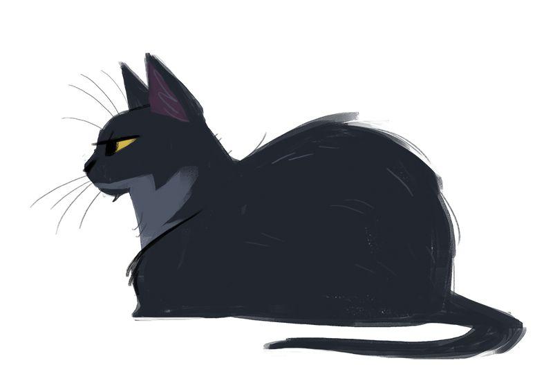 Daily Cat Drawings 511 Papi My Papi Cat Cartoon Images