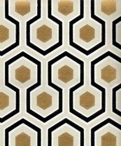 David Hicks Hexagon Wallpaper, Cole & Son   Paterns   Pinterest ...