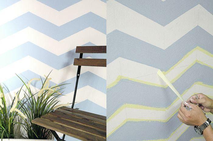 19 Cara Mengecat Dinding Bercorak Kreasi Cat Tembok Terunik Dinding Wallpaper Dinding Dekorasi Kreatif