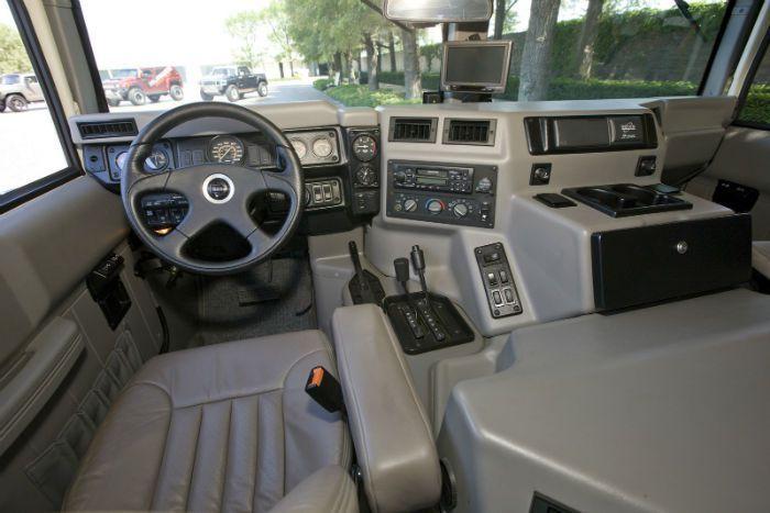 Wonderful 2017 Hummer H1 Interior Ideas