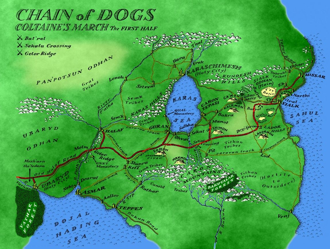Chain Of Dogs 1st Half
