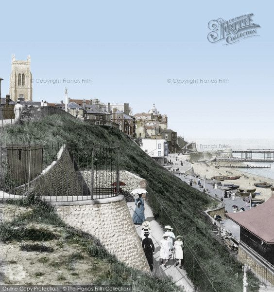 Cromer, From The East Cliff 1906, from Francis Frith