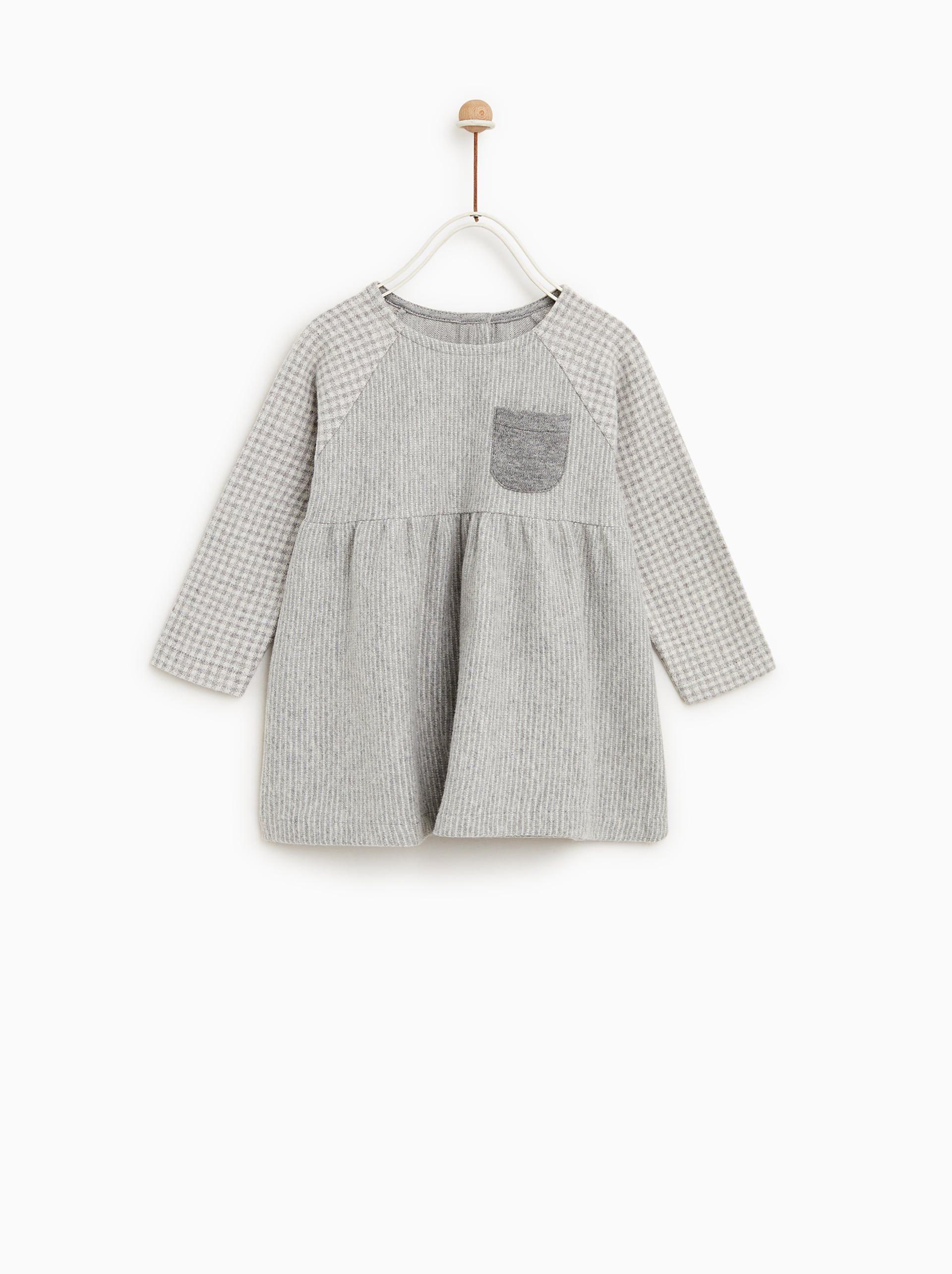 52c8ce19 BABY -SOFT FABRIC DRESS from Zara | 2018 FALL - GIRLS WTW | Soft ...