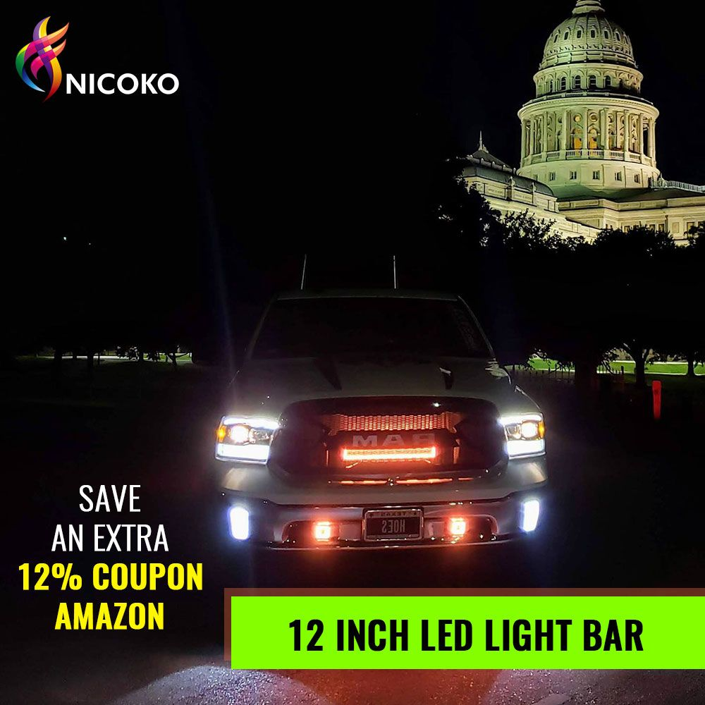 72w 4d Color Changing Light Bar In 2020 Led Light Bars Led Lights Led Driving Lights
