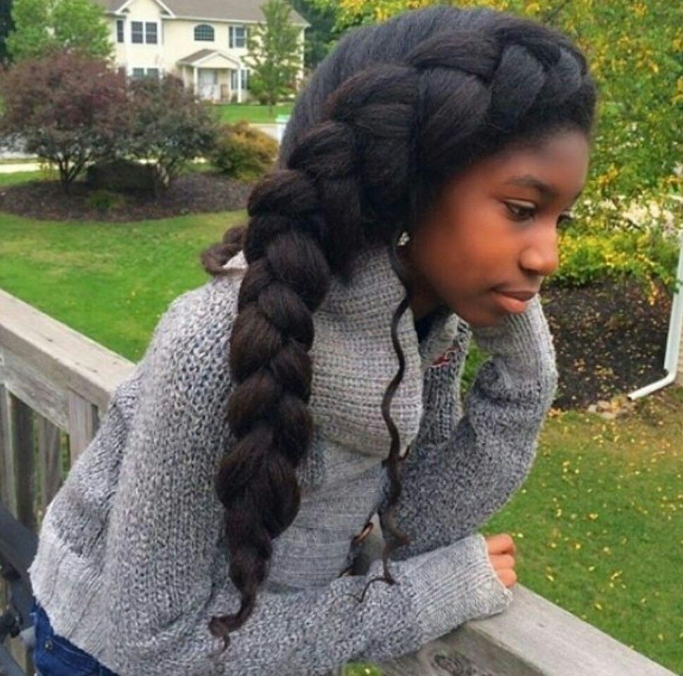 Jumbo french braid | hephzibah | Pinterest | French braid ...