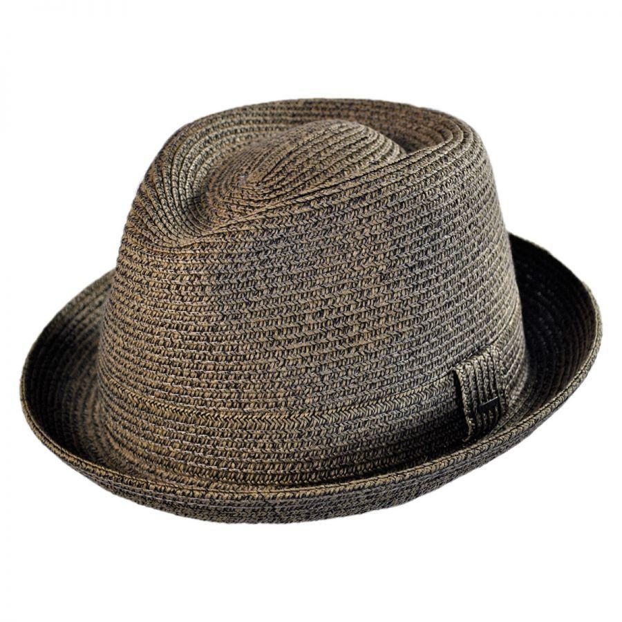 Billy Fedora Hat in dark chino - villagehatshop.com Fedora Hat 4cca9ebbf6f