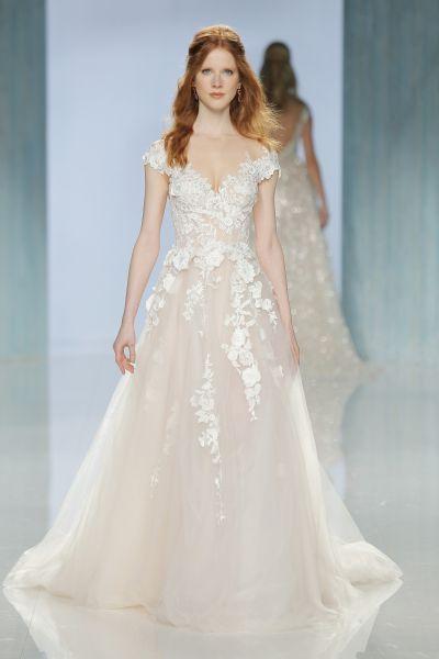 Galia Lahav. Credits_ Barcelona Bridal Fashion Week | boda jardin ...