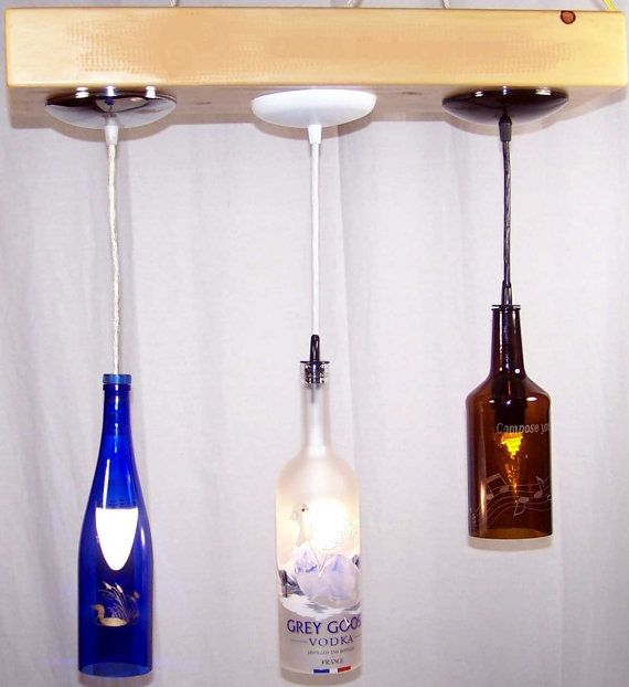 Hanging Pendant Lights by WhimsicalSimplyGifts on Etsy, $89.00