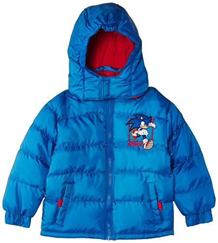 Sega Boys Sonic The Hedgehog Hooded Down Coat Skydiver Blue Red 6 Years Sega Http Www Amazon Co Uk Dp B00me62utw Ref Cm Sw R Pi Dp Down Coat Boys Clothes