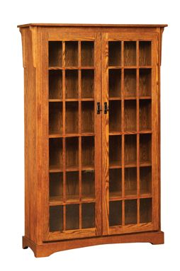 Our Mission Large Bookcase With Two Doors Features Beautiful Woodwork And Detailed Construction Come See Us In Shipsehwana Entire Selection