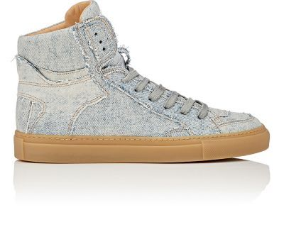 MAISON MARGIELA Vintage High-Top Sneakers. #maisonmargiela #shoes #sneakers