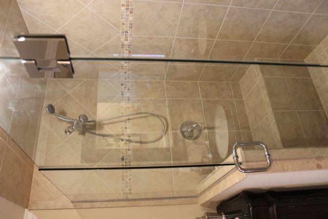 Nice glass/tile shower unit | Mobile Homes | Pinterest | Fort myers ...