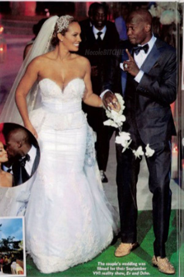 Evelyn Lozada And Chad Ochocinco S Wedding It Was Suppose To Last