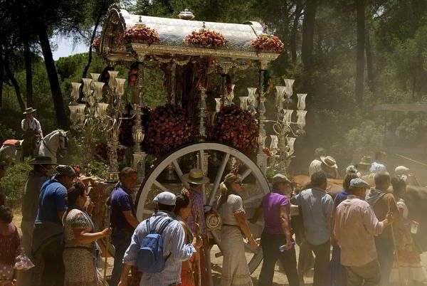 Romería Del Rocío Almonte Andalucia Romeria Peregrinacion Fotografia
