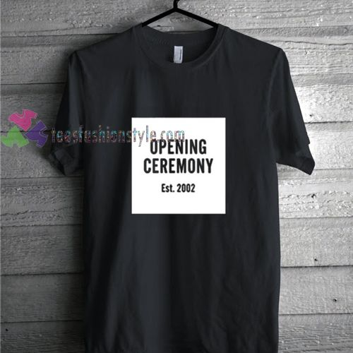 Opening Ceremony t shirt gift tees unisex adult cool tee shirts ...