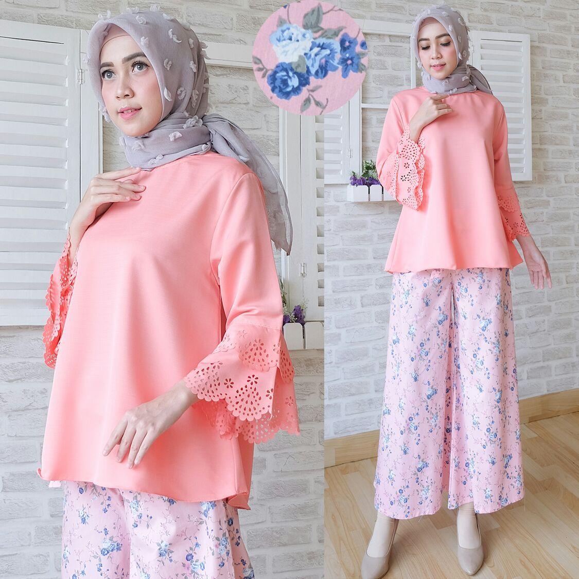 Baju Atasan Wanita Ravika Blouse - Model Busana Kerja  a58658d971