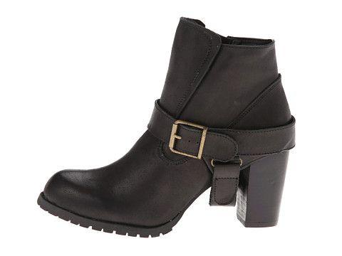 Type Z Edword Black Leather - 6pm.com