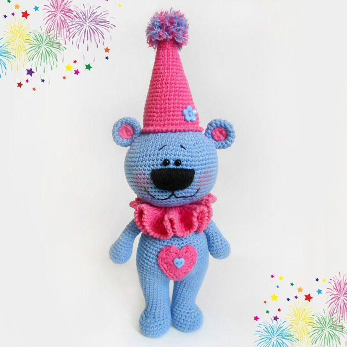 Crochet festive bear free amigurumi pattern | Crochet.Amigurumi ...