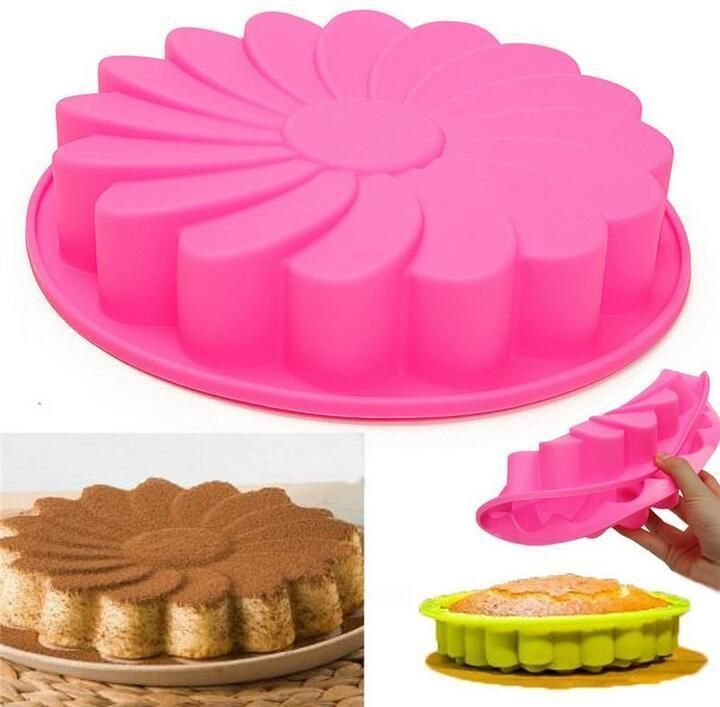 Silicone Round Garland Molds Cake Decorating Tools For Pans Baking