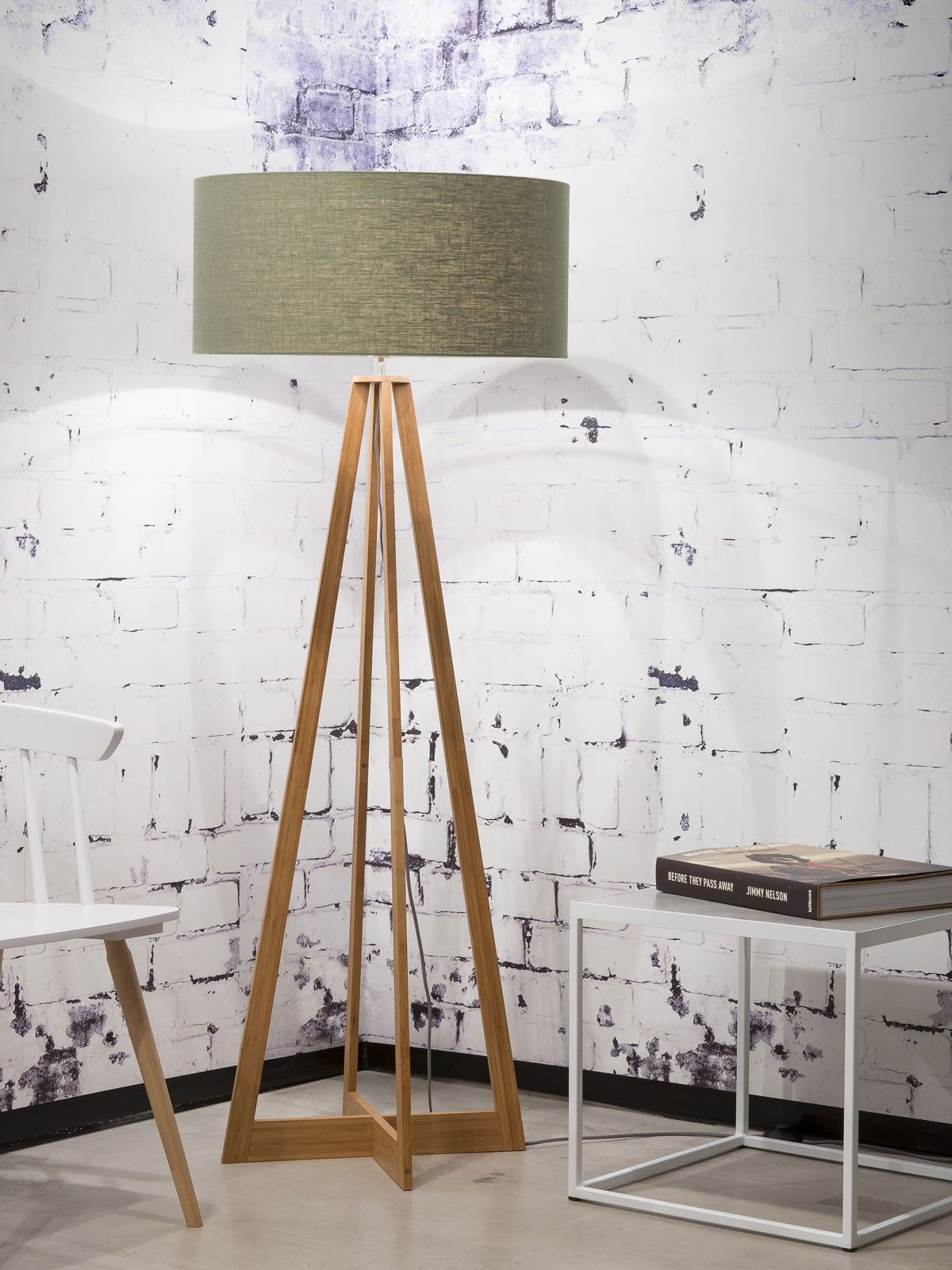 Everest Floor Lamp Green Forest Shade Its About Romi