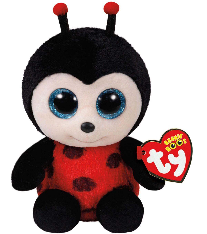 TY Beanie Boo Lady Bug Izzy Beanie boos, Baby stuffed