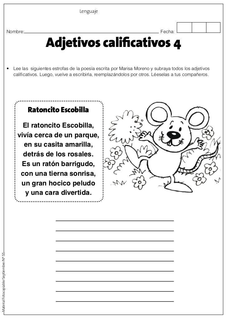 Adjetivos calificativos | actividades para primaria en 2018 ...