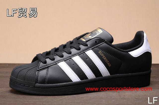 adidas superstar classic black and white