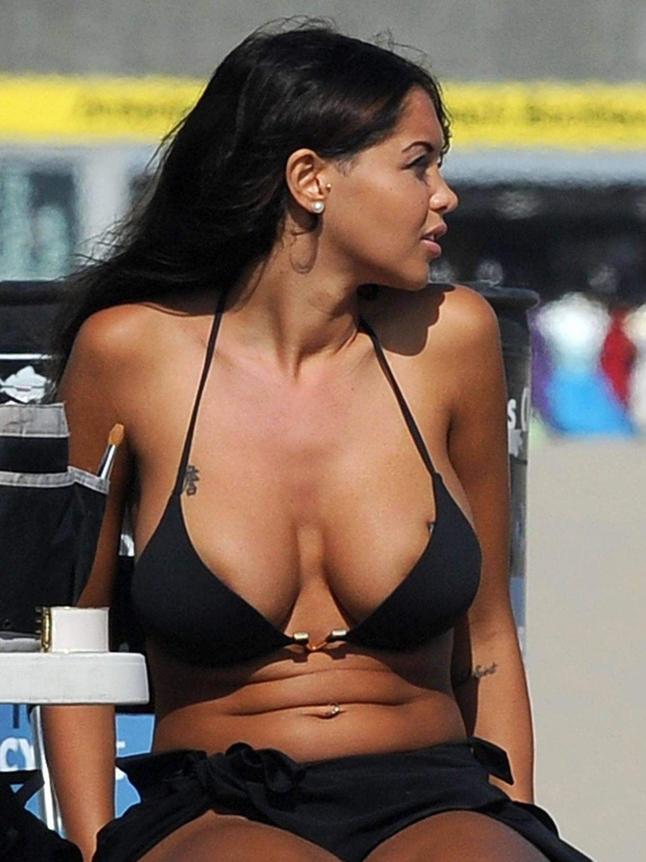 Model Nabilla Benattia Bikini Photos Gallery