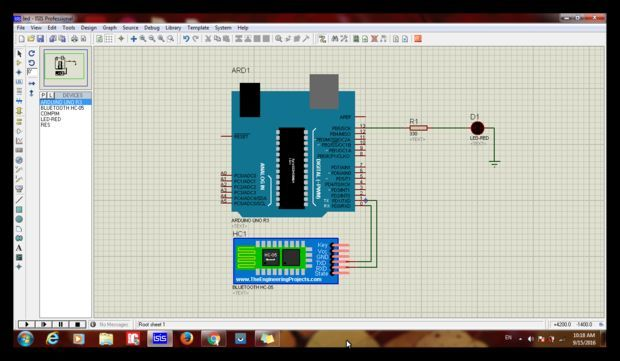 How to Simulate Android Arduino LED Control Via Bluetooth in