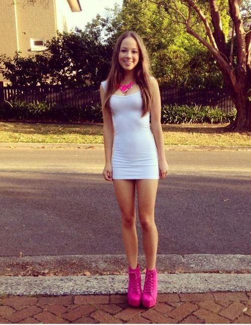 skirt mini hot Amateur legs