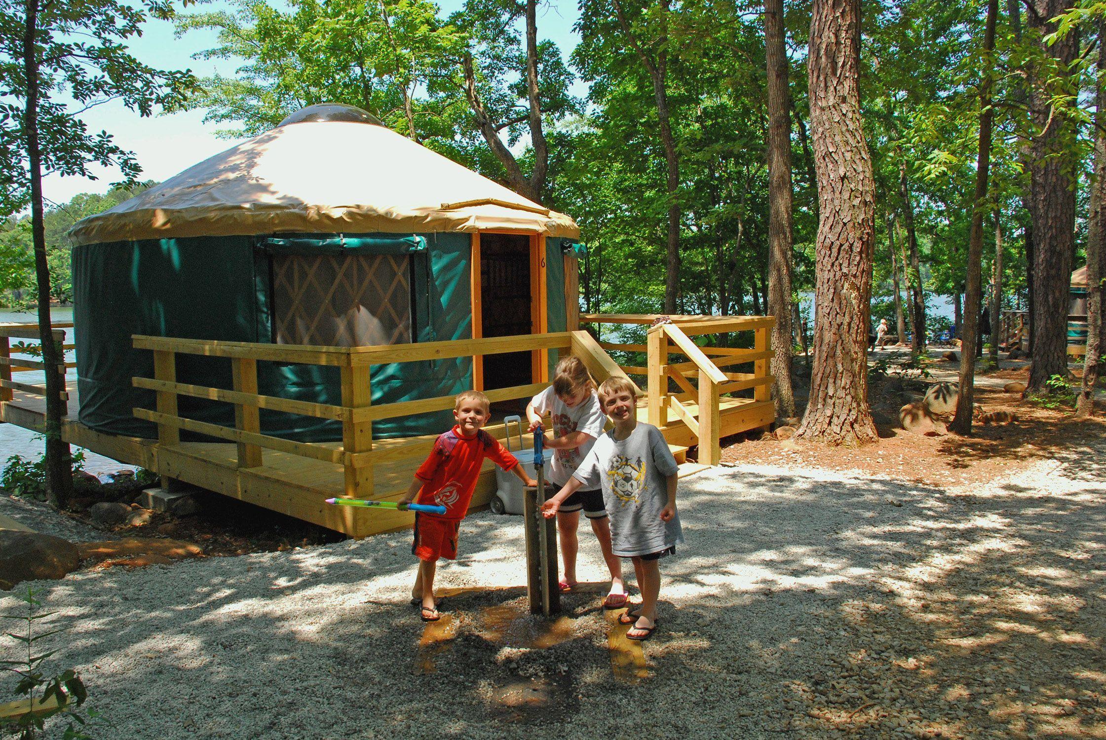 Fort Yargo State Park Winder GA 30680 Yurt Interior
