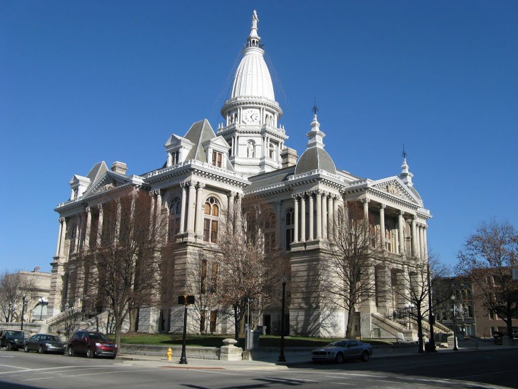 Indiana marshall county tippecanoe - The Tippecanoe County Courthouse Is Located On The Public Square In The City Of Lafayette In