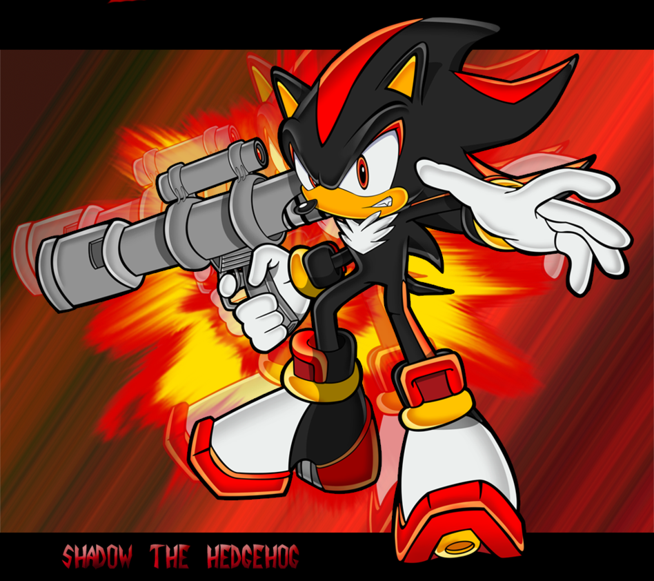 Shadow the Hedgehog GUN | Shadow The Hedgehog Shadow ...