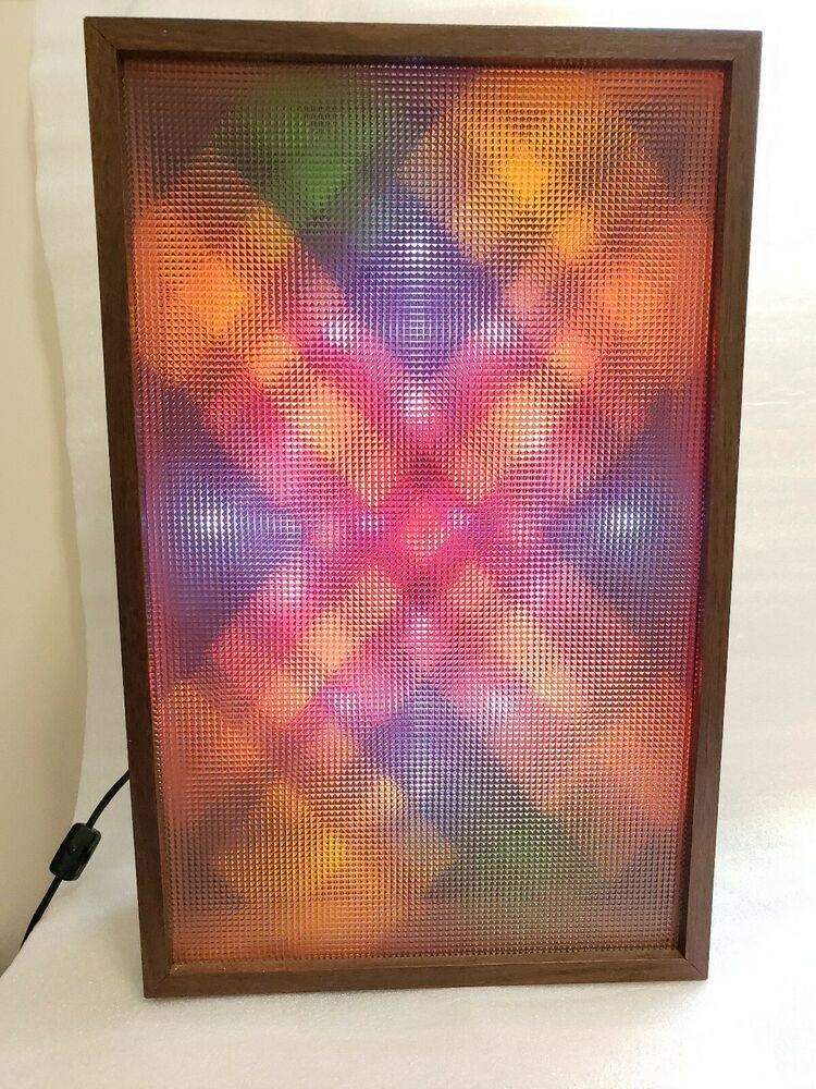 Vintage 1980 S Realistic Color Organ Working Sound Activated Disco Party Lights Vintage Realistic