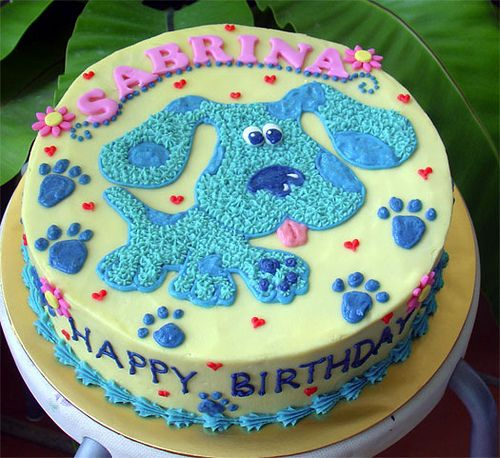 Blues Clues Cakes Pictures Blues Clues Round Cake With Images