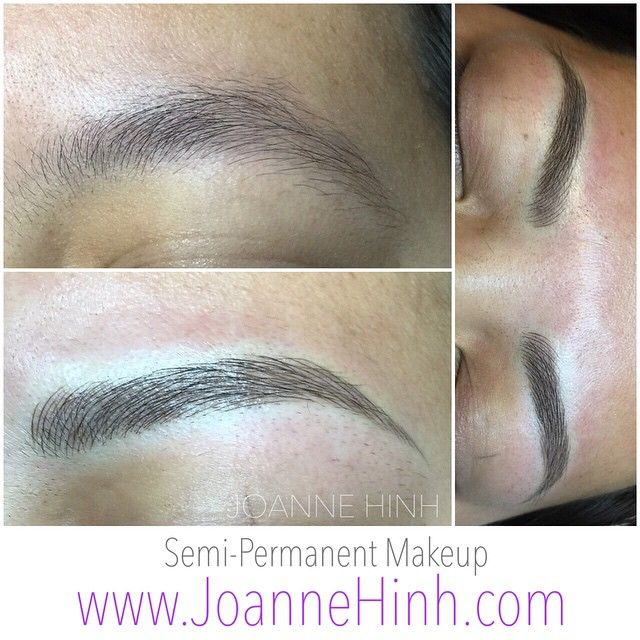 Client Naturally Has A Lot Of Brows But Unshaped Shape Was A Bit