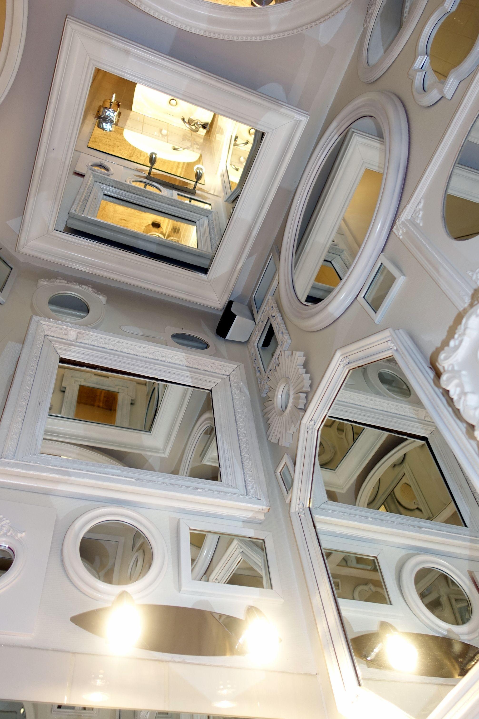 Collection de miroirs - Resto Remy 70