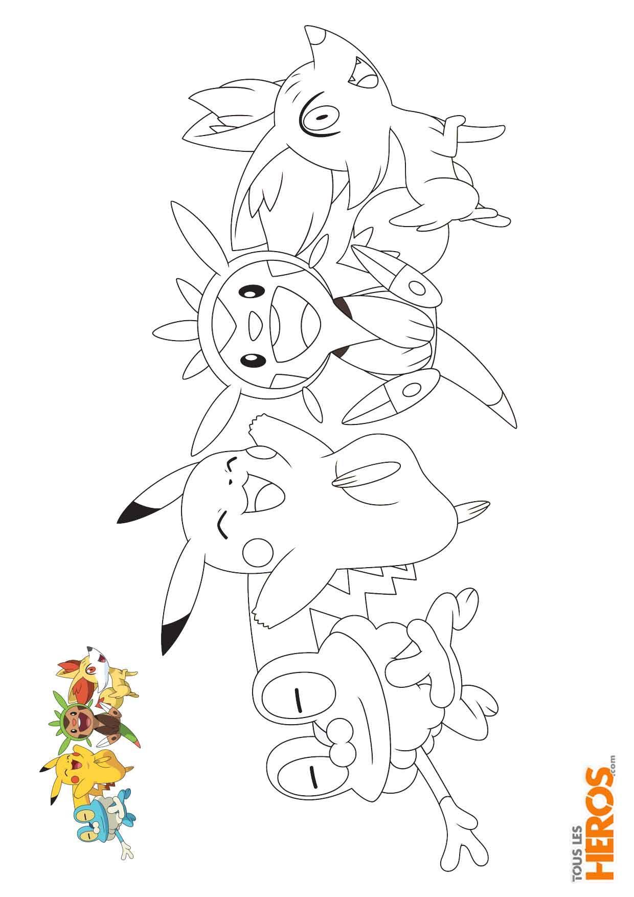 Coloriages Pokémon à Découvir Sur Le Blog De Tlh