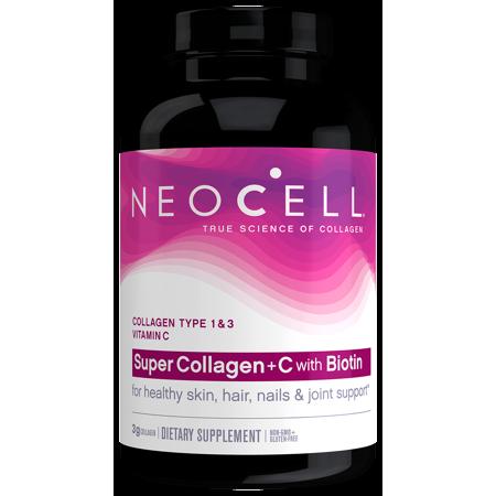 Neocell Super Collagen C 6 000mg Collagen Types 1 3 Plus Vitamin C 210 Tablets Walmart Com Neocell Super Collagen Collagen Pills Collagen Supplements