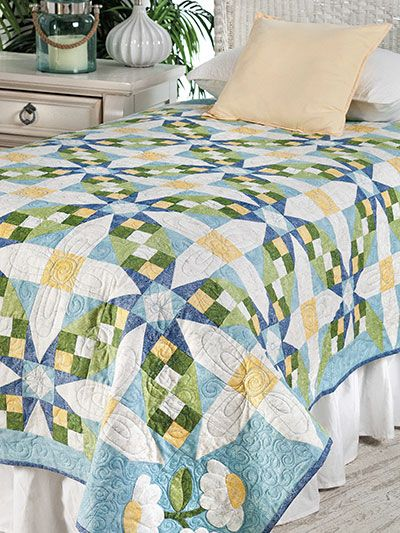Use keycode ANNIES to save 50% on select quilt downloads at Annie's through Dec 17th.