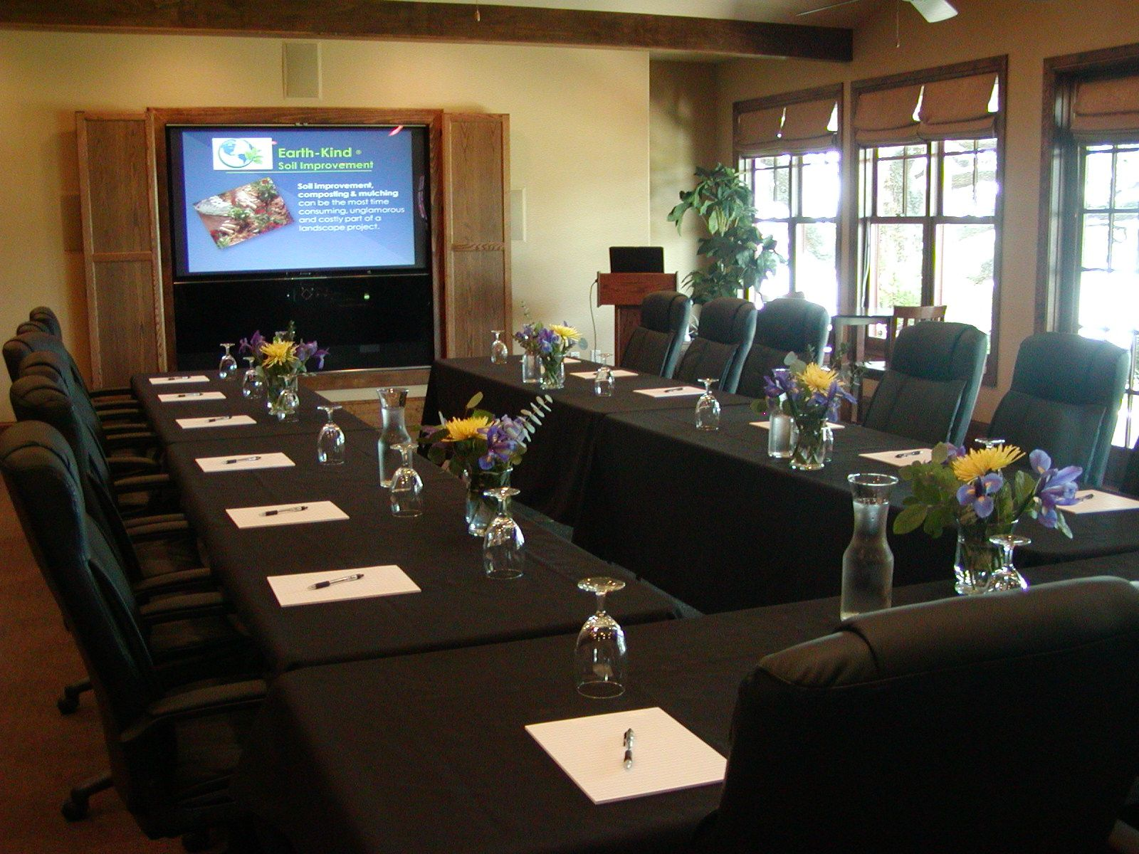 Our Spacious Conference Room Has The Capacity For Up To 50 Or More