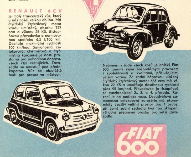 Západní auta v ČSSR: projděte si české katalogy desítek modelů - 13 -