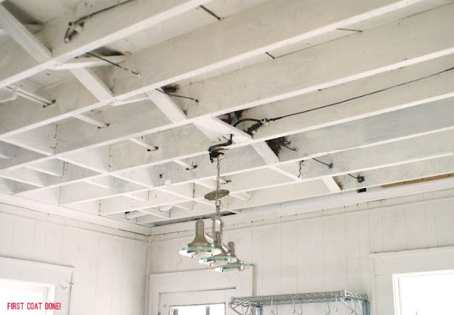 More Exposed Ceilings Exposed Basement Ceiling Kitchen Ceiling Basement Ceiling Ideas Cheap