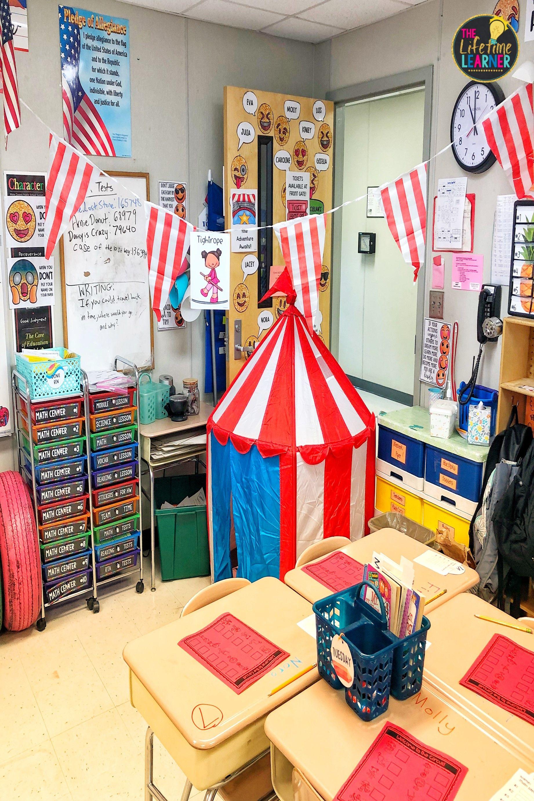 Circus Classroom Transformation